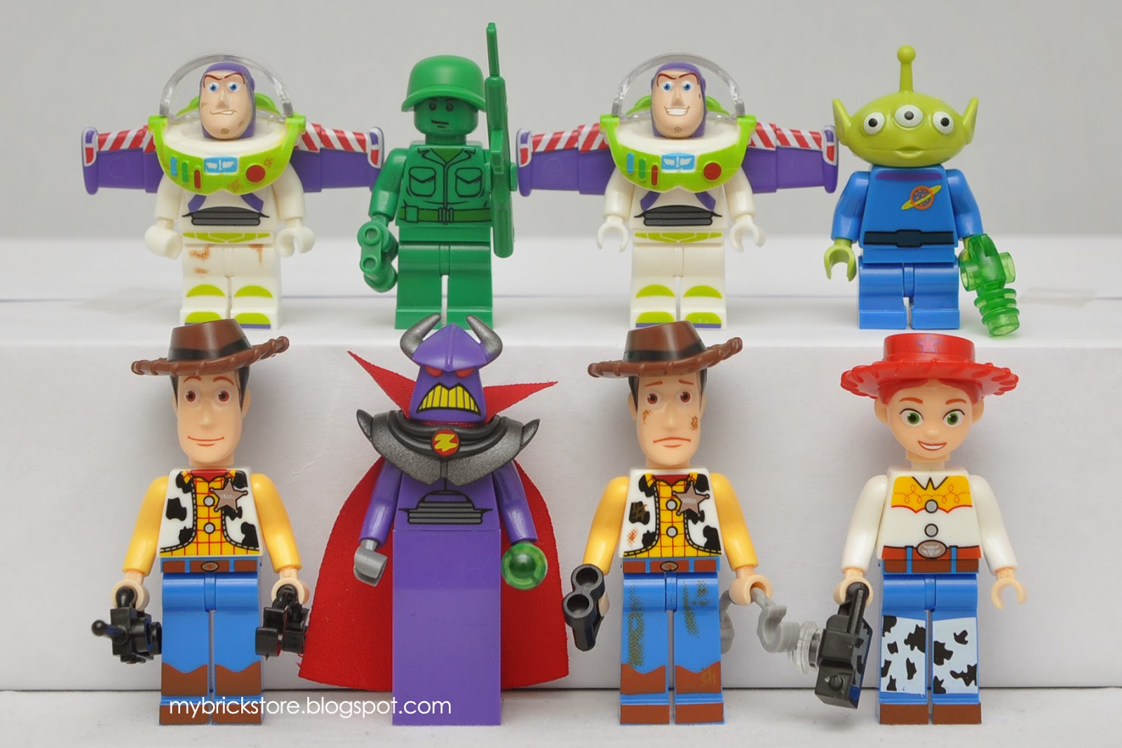 My Brick Store Lego Toy Story By Sheng Yuan Sy172