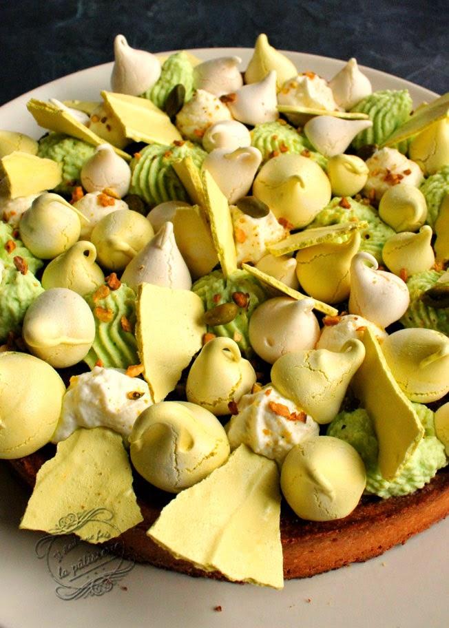tarte pistache mascarpone