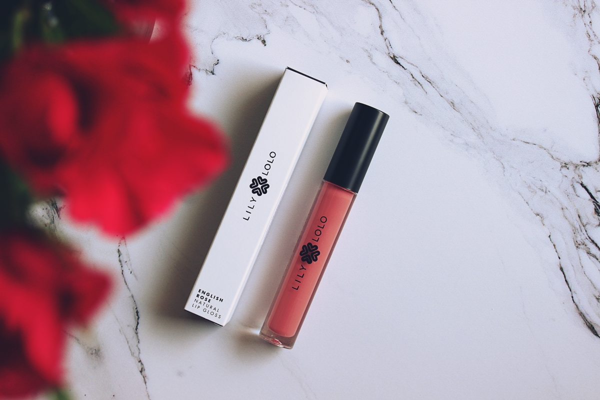 lily lolo costasy błyszczyk english rose lipgloss
