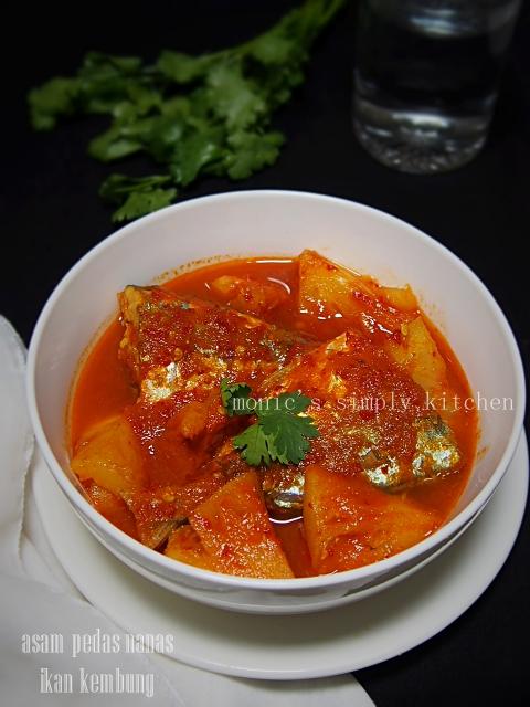 resep asam pedas nanas ikan