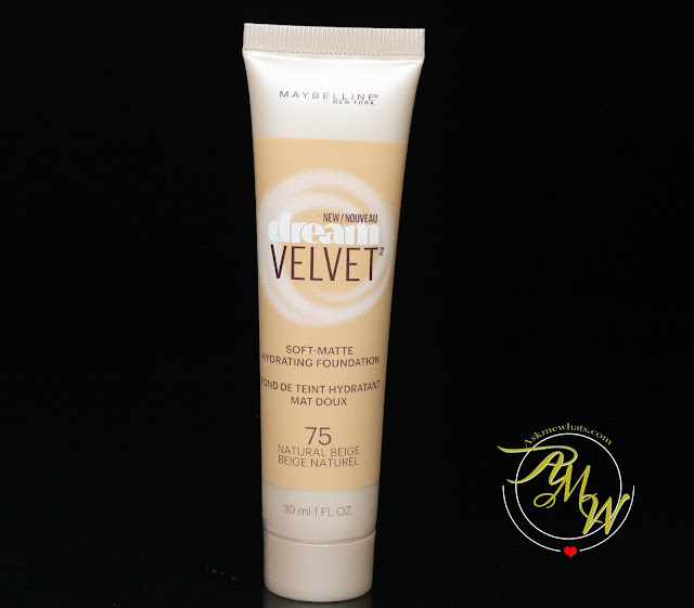 a photo of Maybelline Dream Velvet Soft Matte Hydrating Foundation Natural Beige