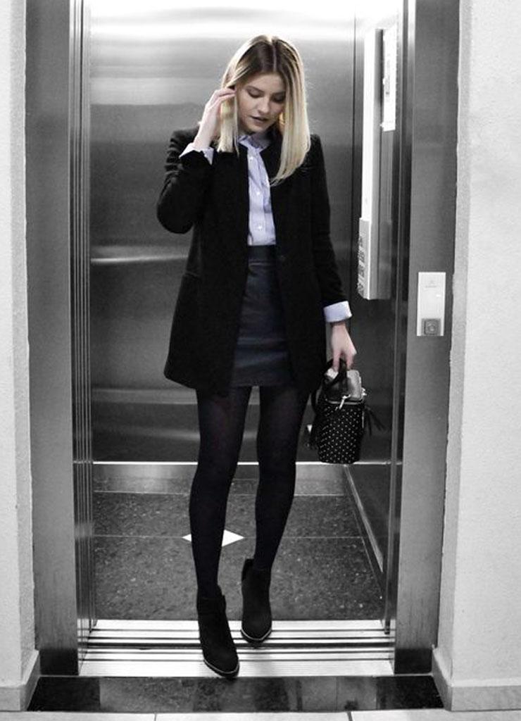 Opções de looks para trabalhar estilosa no inverno