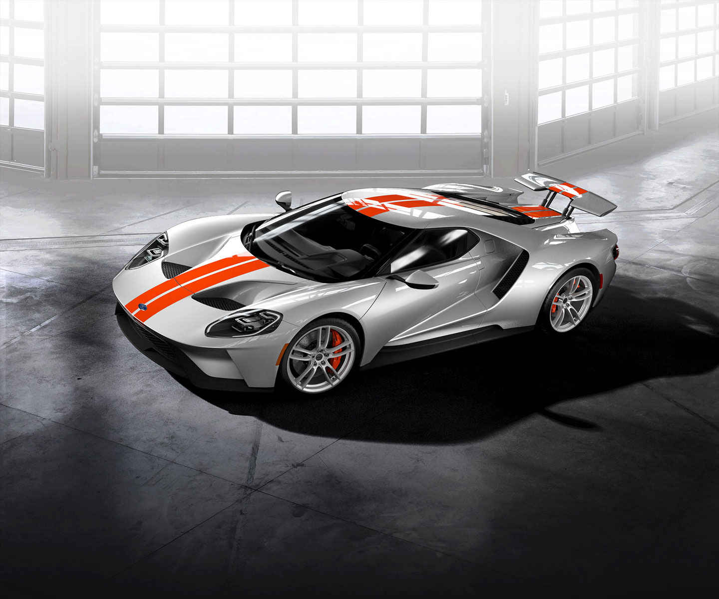 The Ingot Silver Competition Orange Ford Gt In The Photos Below Is One Of Two Examples I Created Through The Configurator