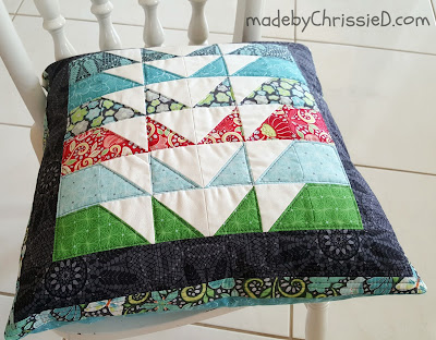 Meadow Dance Cushion Tute by www.madebyChrissieD.com