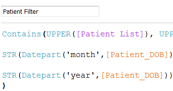 Fuzzy matching to a list using parameters in #Tableau | Tableau Zen