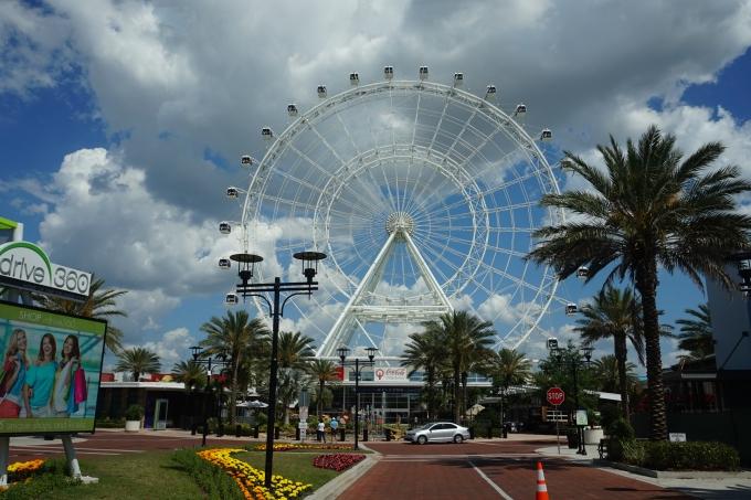 Orlando Eye maailmanpyörä, Florida lasten kanssa
