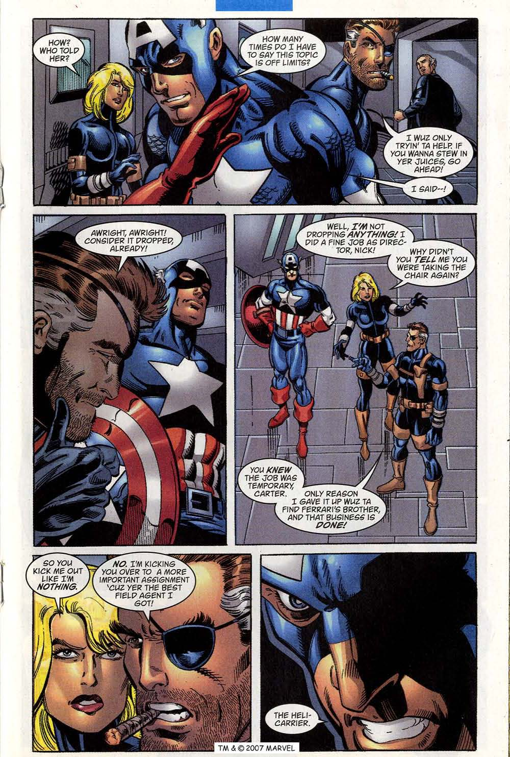 Captain America (1998) Issue #45 #52 - English 19
