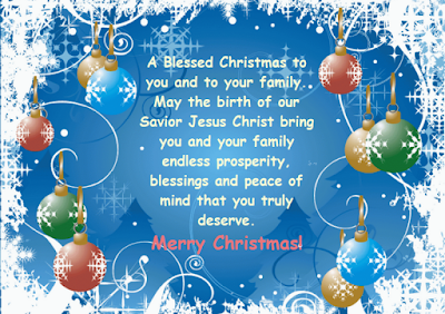 Sweet Merry Christmas Wishes