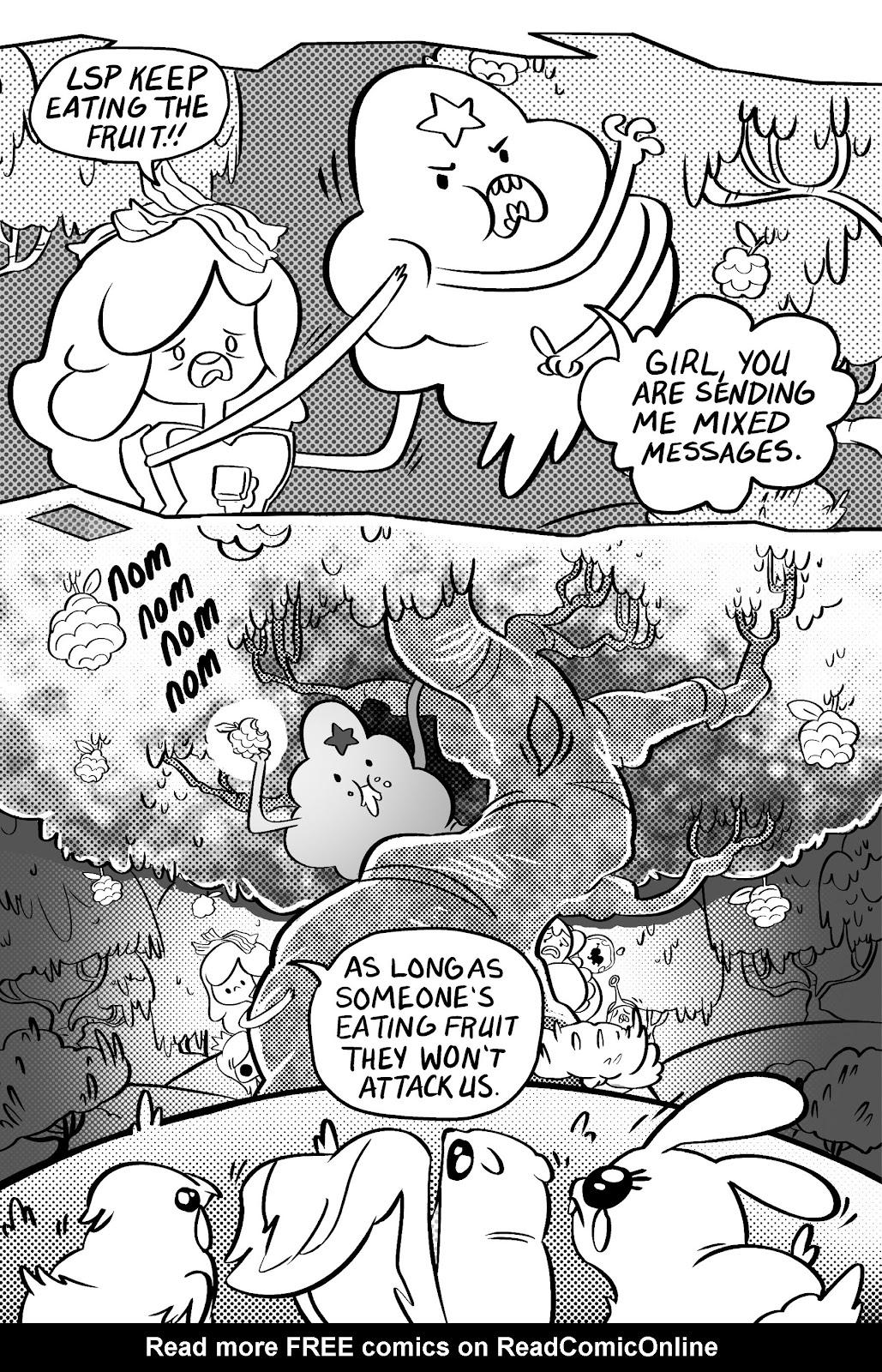 Read online Adventure Time: Pixel Princesses comic -  Issue # Full - 99