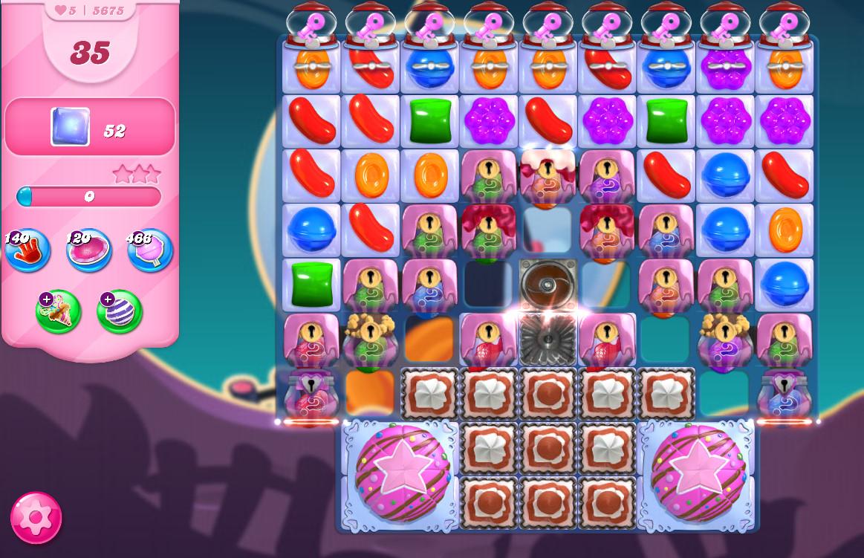 Candy Crush Saga level 5675