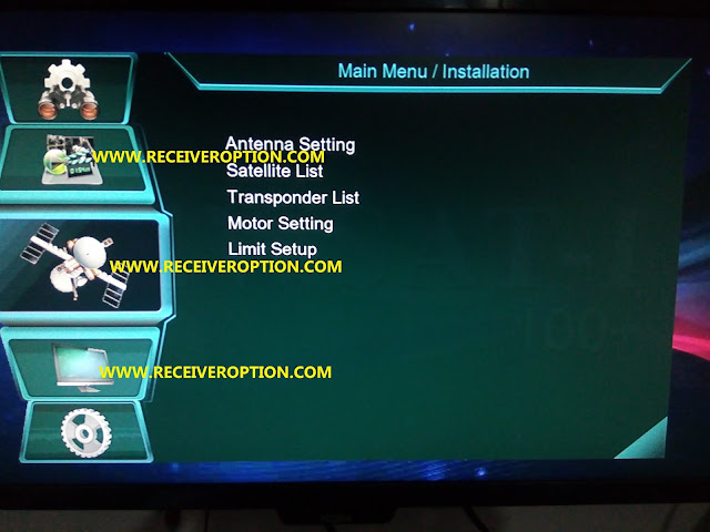 HOW TO UPGRADE NEW SOFTWARE 1506G S/W VERSION SCB4 TYPE RECEIVERS
