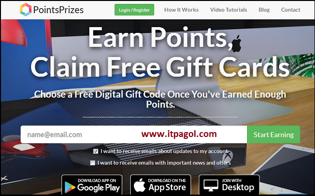 Pointsprizes coupon code