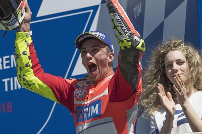 354,9 Km/Jam, Kecepatan Tertinggi di MotoGP Milik Iannone