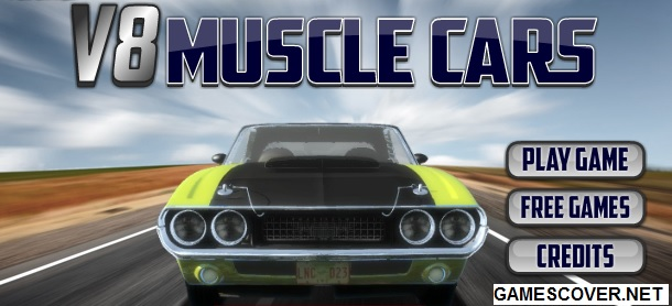Play V8 Muscle Cars Online Game