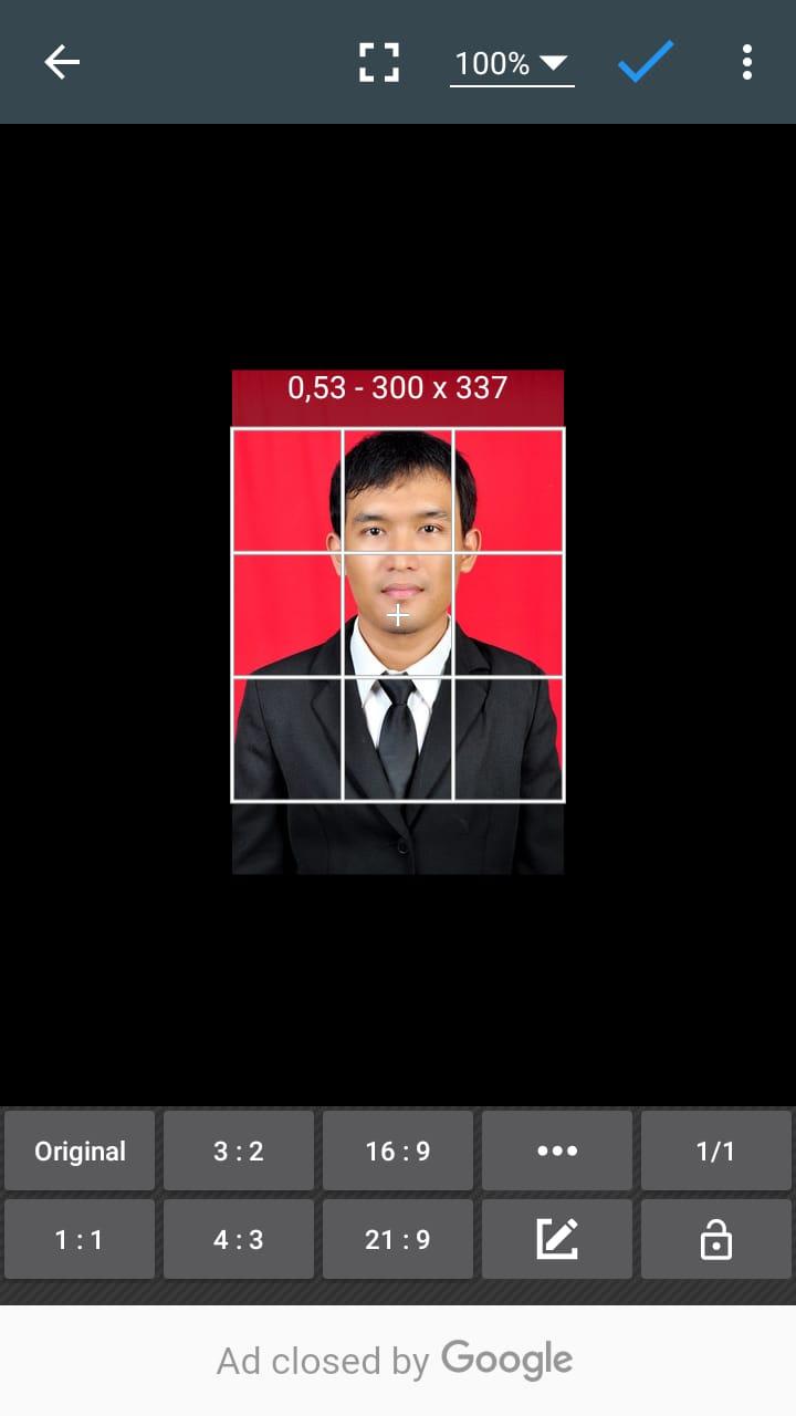 Membuat Dan Mengedit Pas Foto Menggunakan Hp Android Kosngosan