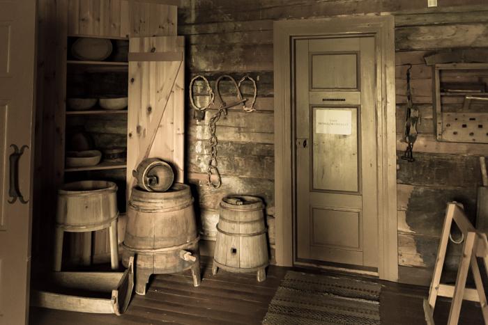 Vanha talo sisustus