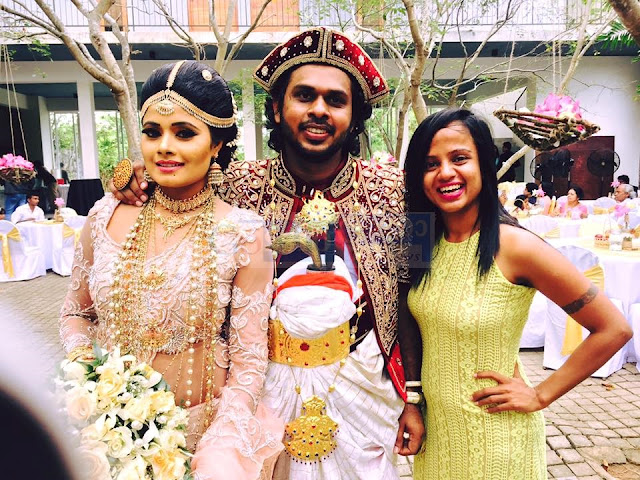 Geethika Rajapakse Wedding Day