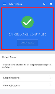 how 2 cancel order on flipkart