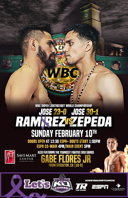 Jose Ramirez vs. Jose Zepeda Fight Card, Preview And Predictions
