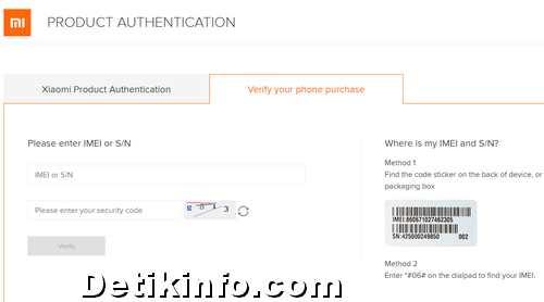 Cara Lihat IMEI Xiaomi Palsu atau Asli yang akurat   Detik Info