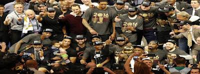 Cavaliers campeones de la NBA
