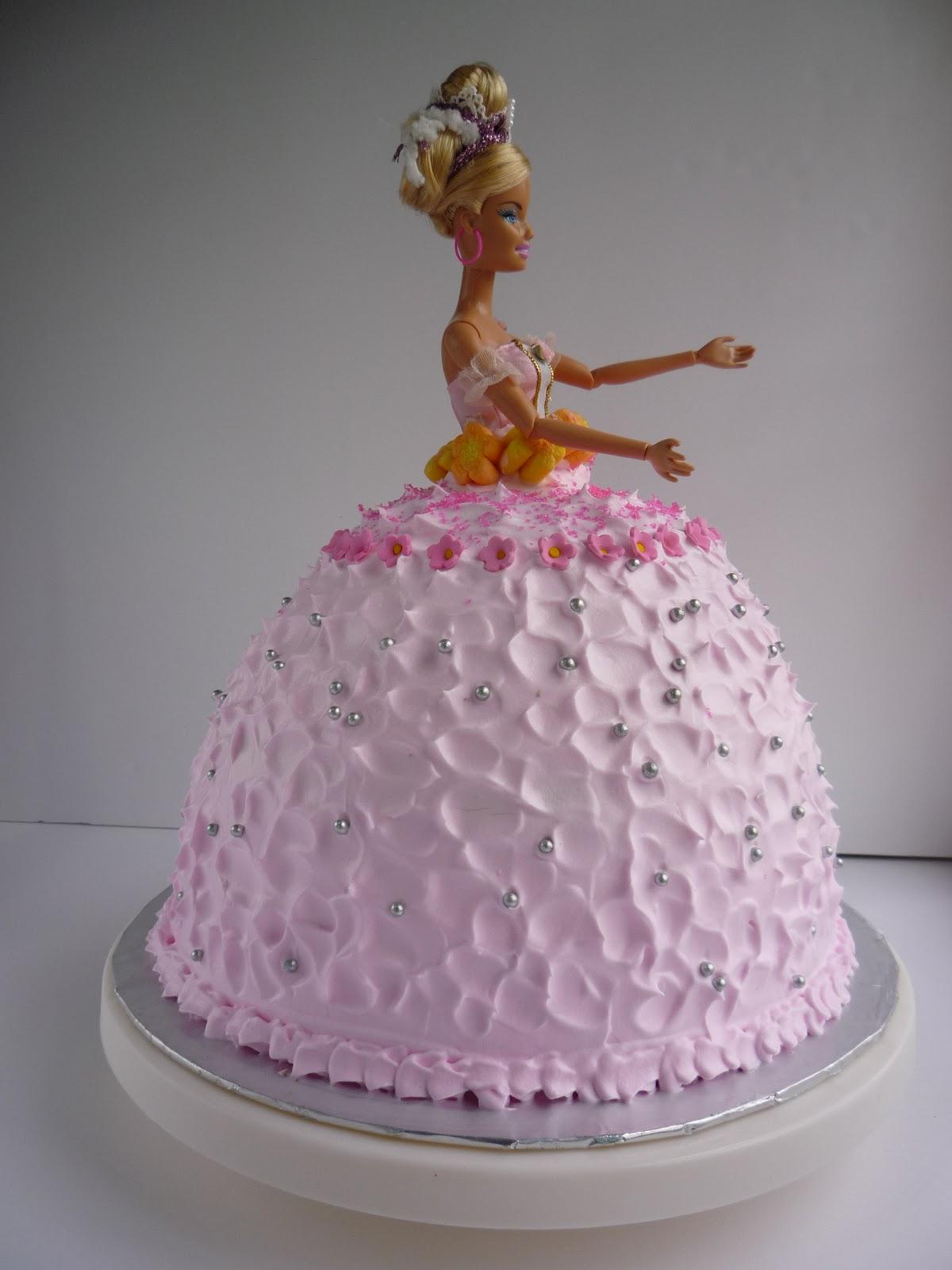 Decorating A Princess Doll Cake