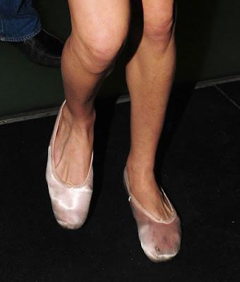 Amy Winehouse Flat Shoes
