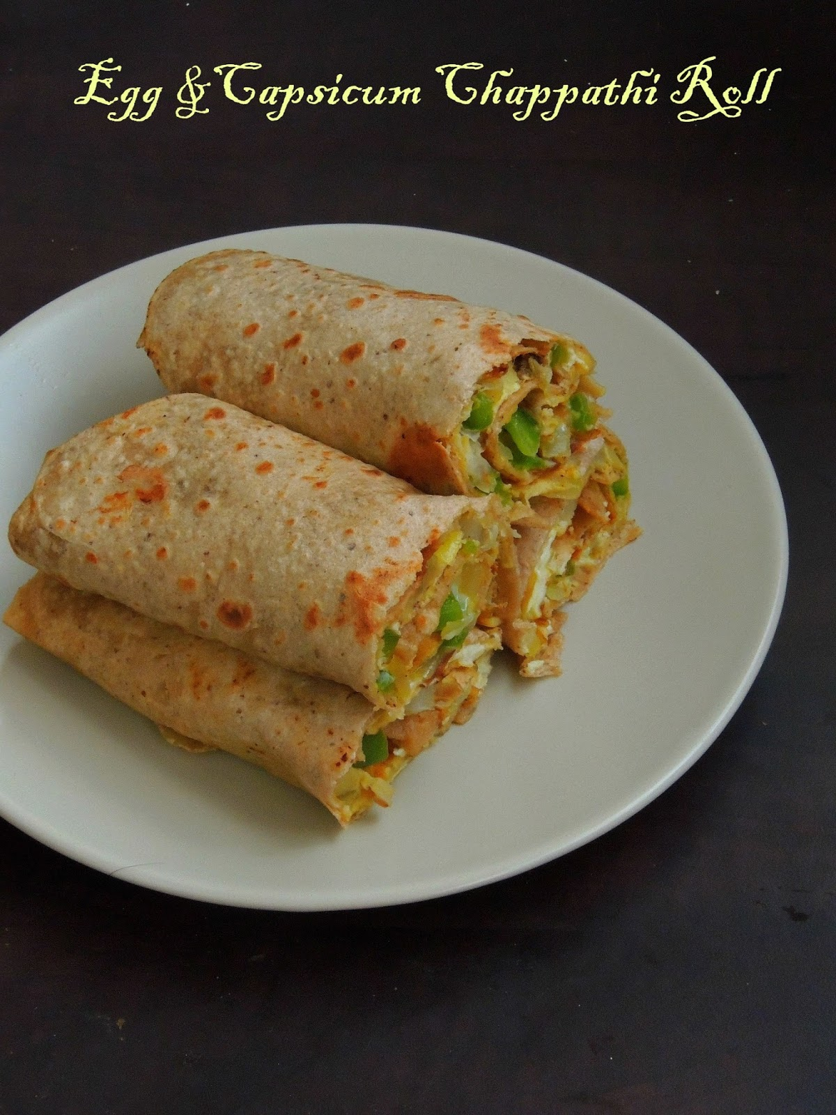 how to make roti egg roll