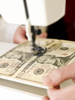 jahit uang