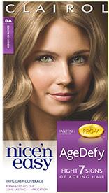 Nice'n Easy Age Defy Permanent Hair Dye Medium Ash Blonde 8A