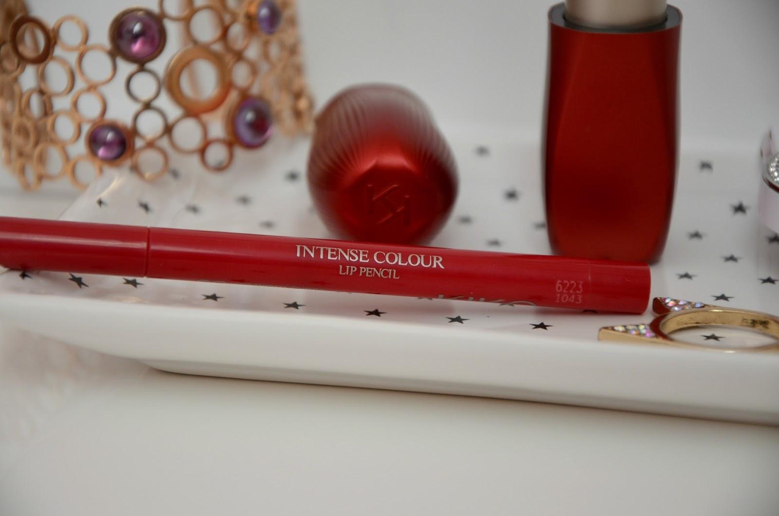 Kiko intense colour lip kit