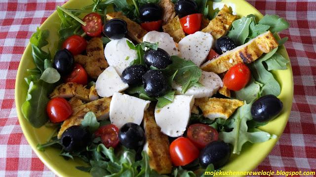 mozzarella oliwki