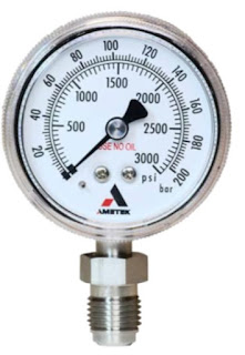 Model 1536 Stainless Steel Semiconductor Pressure Gauge