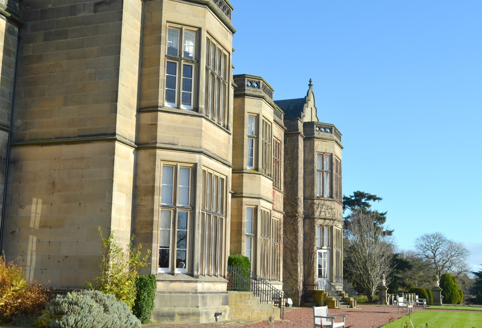 A Romantic Weekend at Matfen Hall, Northumberland - Dinner, Breakfast and Spa