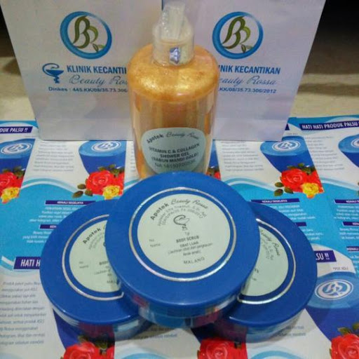 Paket Body Whitening Beauty Rossa