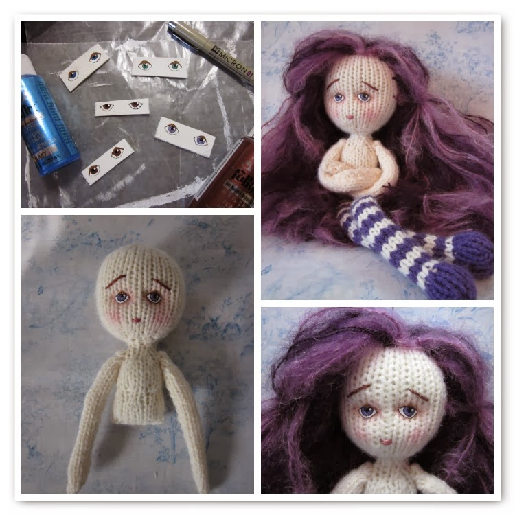 By Hook By Hand Knit Travel Doll By Fiona Mcdonald