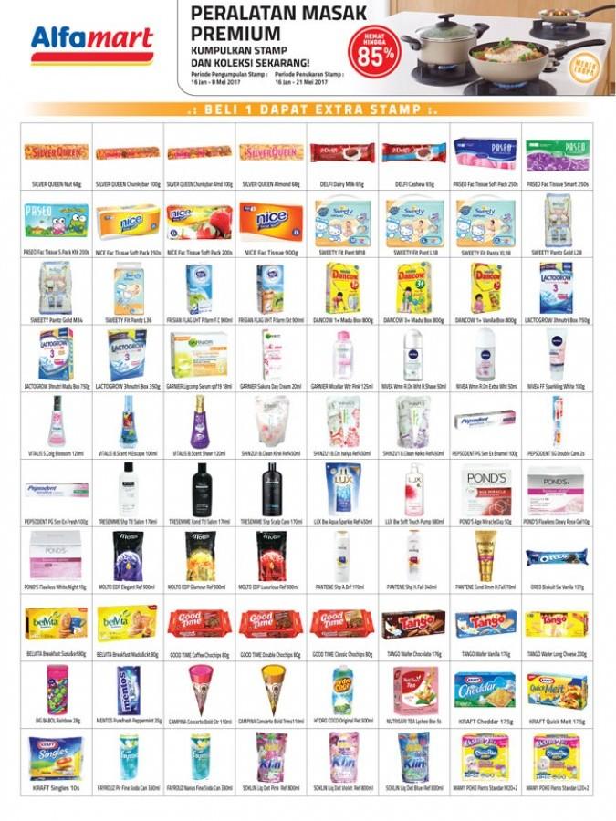 Promo Katalog Alfamart Januari - Mei 2017