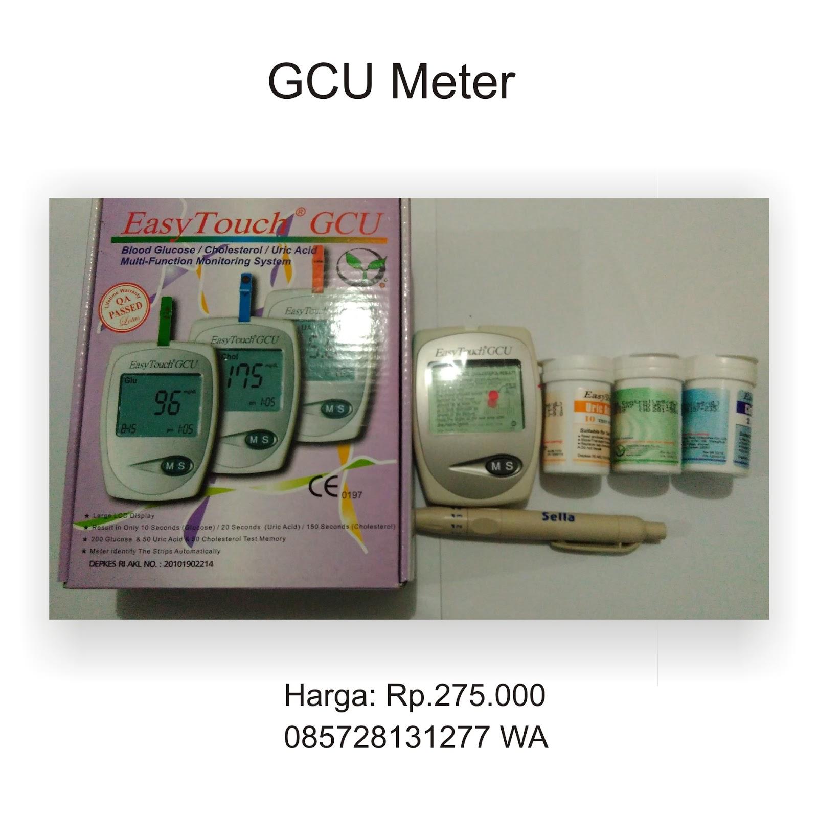 Alat Tes Gula Darah Kolesterol Dan Asam Urat Jual Gcu Meter Ogan Strip Easy Touch Glucose Di Ilir 085728131277 Ukur