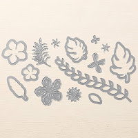 Botanical Blooms, Botanical Builder Builder Framelits Dies, Stampin' Up!
