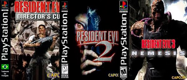 Download Resident Evil 1, 2 e 3 PT-BR - Torrent - PS1