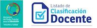 Clasificación de docentes titulares (ANZOATEGUI)