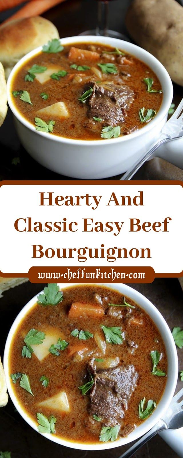 Hearty And Classic Easy Beef Bourguignon