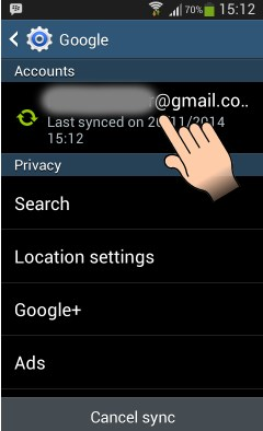 how to sign out of gmail on your android device