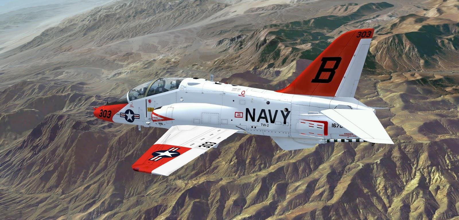 IndiaFoxtEcho Visual Simulations: T-45C Version 2.40 ...