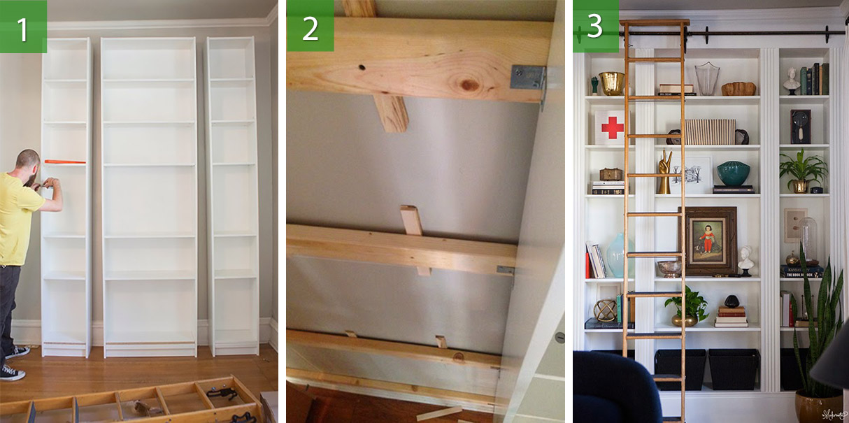【Ikea hack】Transformando » una libreria Billy de $200 en ... - photo#20