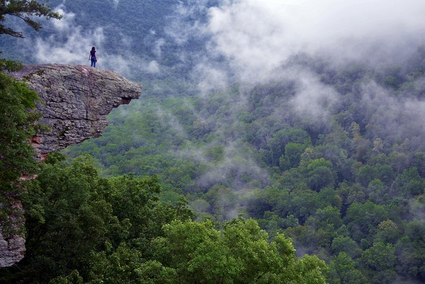 Arkansas Hawksbill Crag-Whitaker Point, Ozark Mountains