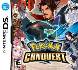 Pokemon Conquest, NDS, Español, Mega, Mediafire