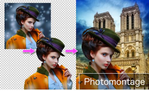 برنامج تغير خلفية الصورة يستخدمونه في الاستوديو. remove image background