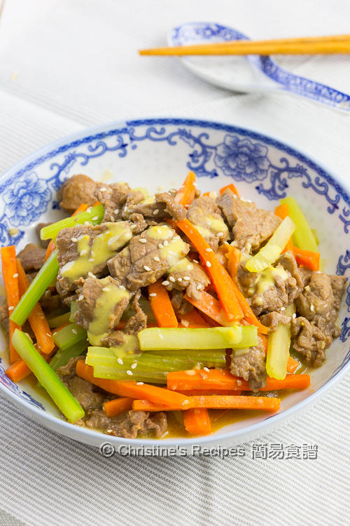 Beef Stir Fry with Mustard Sauce01