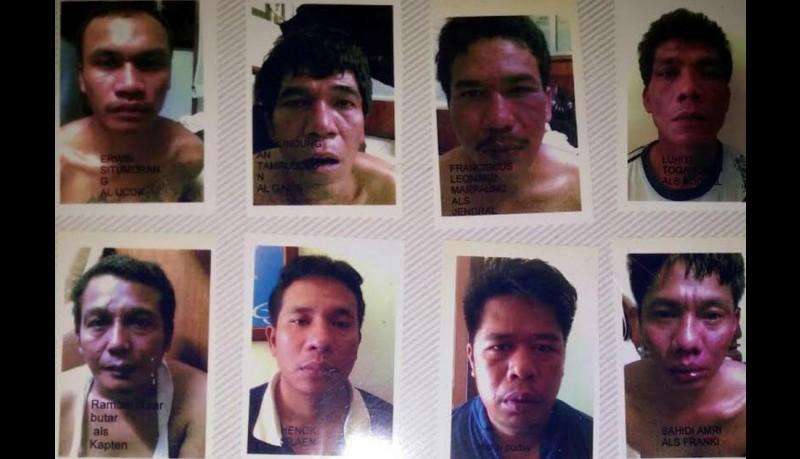 Komplotan Ramlan Butarbutar cs merampok di Sukabumi